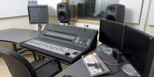 Digital editing for video and audio production can be performed at DPS in Fond du Lac, Wisconsin.